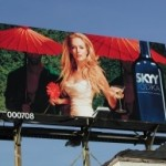 Premiere Panel billboard Sunset Strip - Skyy Vodka