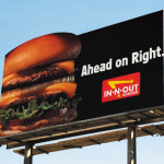Premiere Panel directional billboard- In N Out Burger LA